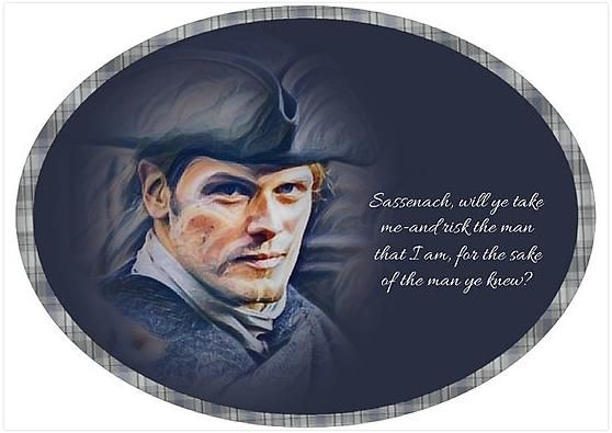Jamie Fraser/Quote from Voyager