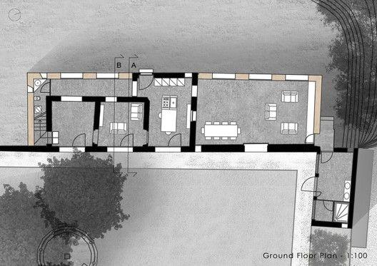 Villa Brolo Saccomani Renovation,Floor Plan