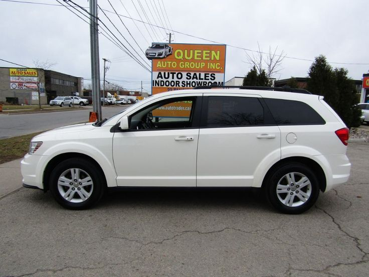 Used White 2012 Dodge Journey Low Kilometers | Push To Start | Bluetooth SUV / Crossover for sale in North York, Ontario. Selling at $12,495. 49,797 KM. View Listing and Contact Seller.
