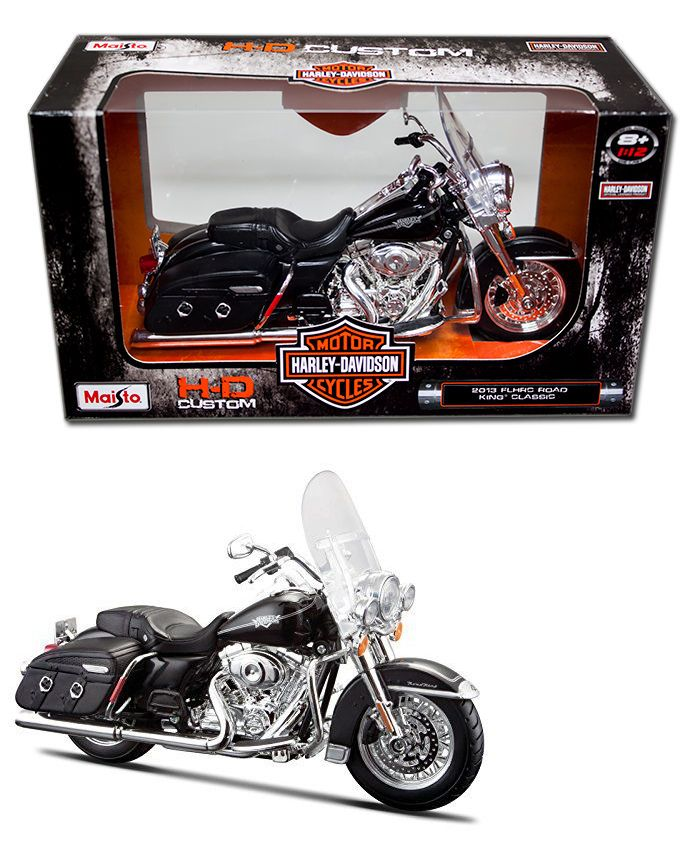 diecast model harley davidson 2013 Flhrc Road King Classic 1//12 scale