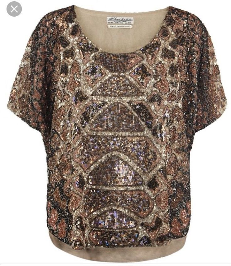 All Saints Embellished Beaded Sequin Top Python Snake Rare Free People #AllSaints #Blouse #Clubwear