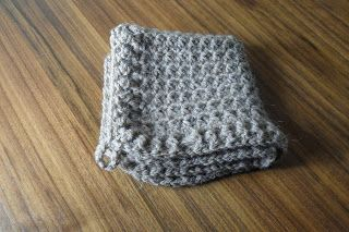 I've Made Friday Week 77 ~ Crochet Addict UK - Trinity Stitch Washcloth