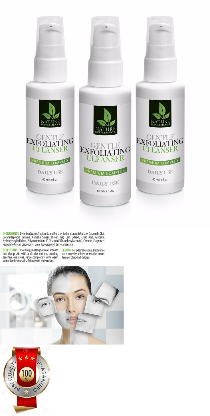 Eye Shadow Primer: Vitamineral Green - Gentle Exfoliating Cleanser Complex 60Ml 2Fl - 3 Bottles -> BUY IT NOW ONLY: $33.95 on eBay!