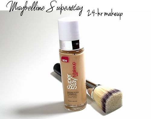 Maybelline Superstay 24-hr Make-Up - Makeup Tips, Beauty Reviews, Tutorials | Miss Nattys Beauty Diary