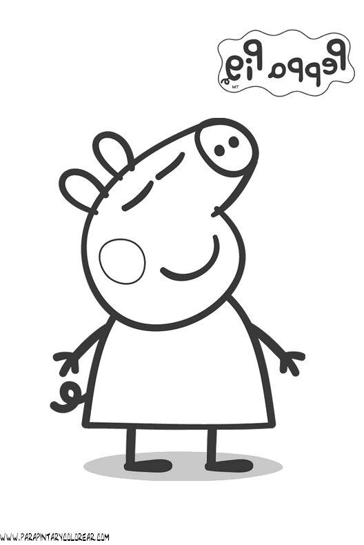 para colorear peppa pig dibujos peppa pig gif dibujos peppa pig gif