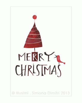 illusimi: some new Christmas greeting cards