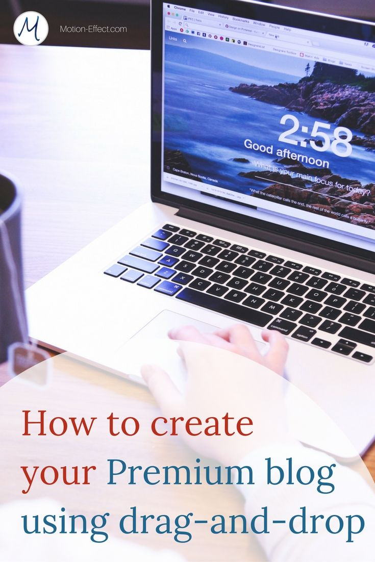 Could you built a blog using drag-and-drop? #digitalnomad #blogging Setting up a beautiful and professional WordPress site is not hard anymore. Let me show you exactly what you need in this post. - #webdesign #wordpress…