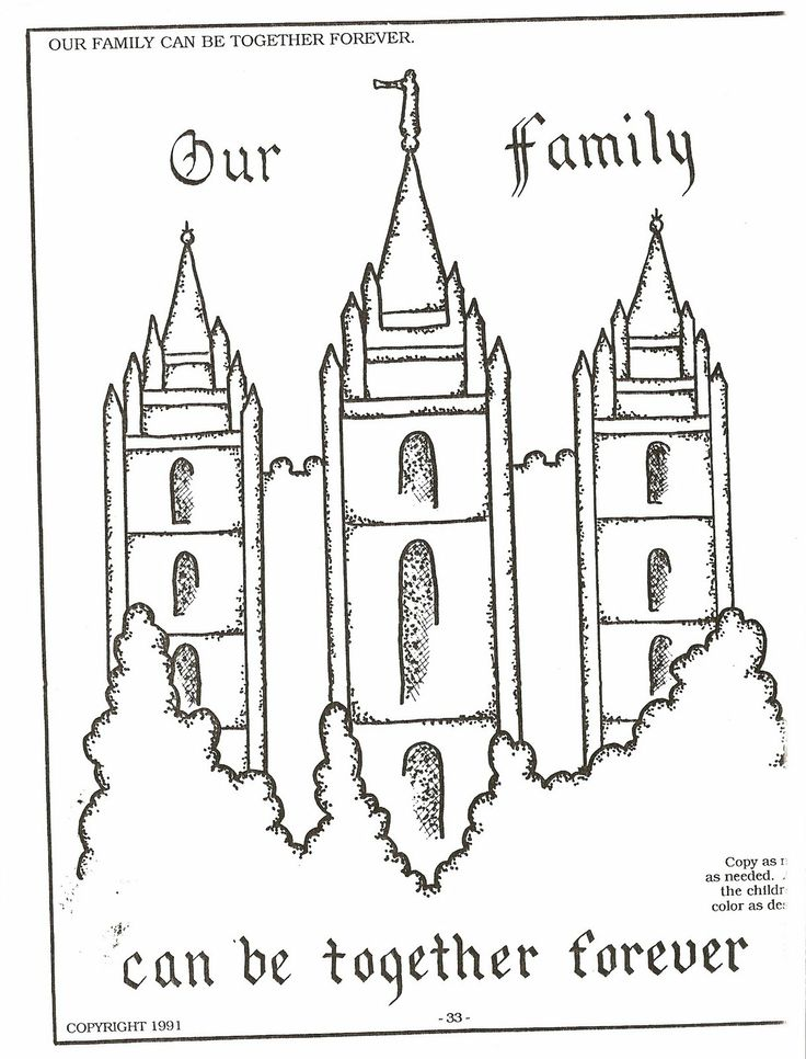 Color page families can be together for Lds pioneer coloring pages