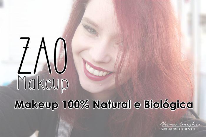 http://vivernumt0.blogspot.pt/2015/12/zao-makeup-review-lippolish-eyeliner-e.html @vivernumt0 tests #zaomakeup in Portugal #maquillagebio #makeupbio #makeup