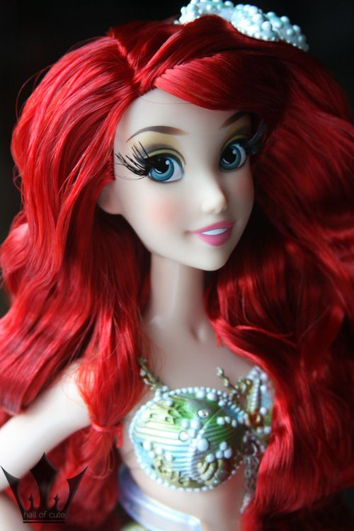 """Disney Store 17"""" The Little Mermaid Ariel limited edition doll"""