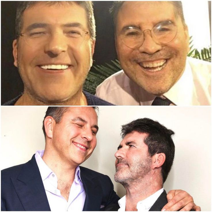 Stephen Mulhern managed to bamboozle Simon Cowell by 'face swapping' with him David Walliams. The results were quite....scary!  We DEFINITELY prefer the two Britain's Got Talent judges with their own faces!  Don't forget,  #BGT returns TONIGHT at 8pm ITV. @bgt @simoncowell @dwalliams @officialstephenmulhern @itv