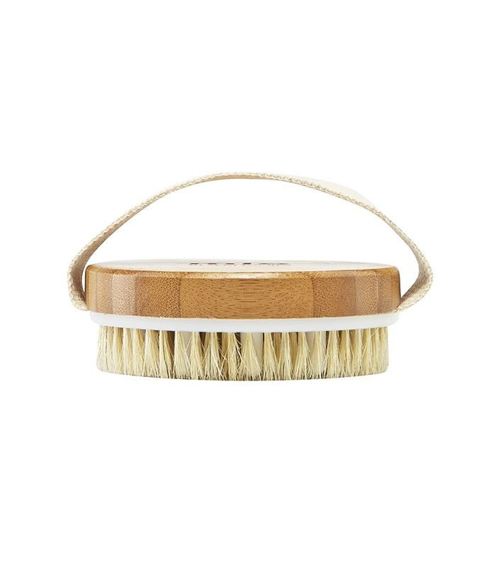 Mio Body Brush ($20) Dry-brushing is probably one of the most underrated pre-shower rituals: Just spending three minutes gently buffing your bod can help you get rid of dead skin, boost circulation, and diminish the appearance of cellulite. Seriously!
