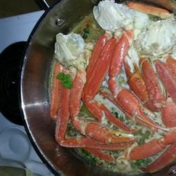Crab Legs with Garlic Butter Sauce Allrecipes.com