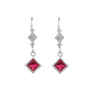 Diamond and Ruby 14K White Gold Leverback Dangling Earrings Gemologica.com. Xmas Gift guide, Gift Ideas For Him, Her, and Kids. Great Christmas Stocking Stuffer Ideas. Give the Gift of Jewelry From the Gemologica.com Jewelry Store. Unique Gifts, Personalized Gifts, Gift Finder @ www.gemologica.com/jewelry-gift-guide-c-82.html Enter Discount Coupon Code 2015HOLIDAY At Checkout For 15% Off Your Entire Order Through Xmas