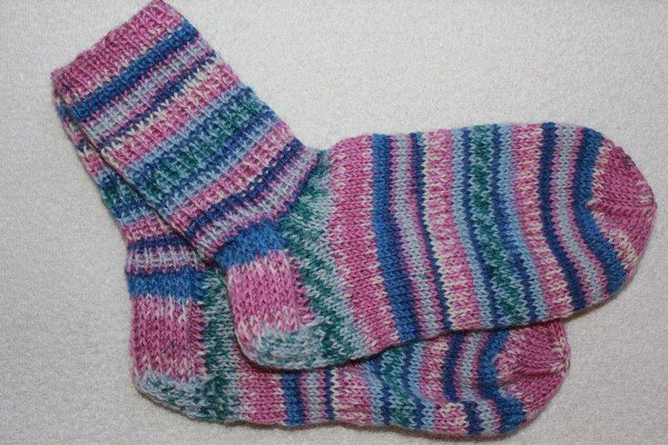 Weiteres - Handgestrickte Socken Gr. 34/35 - ein Designerstück von bastelmaus19…