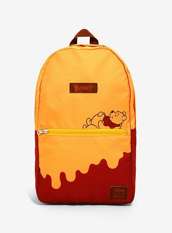 29009620cae Loungefly Disney Winnie The Pooh Honey Drip Convertible Storage Backpack -  BoxLunch Exclusive