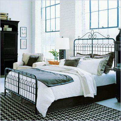 Stanley Furniture Cottage Revival Garden Gate Queen Bed