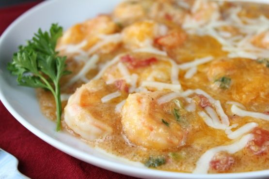 Make and share this Cheesy Shrimp & Grits Casserole recipe from Genius Kitchen.