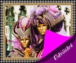 Farsangi képeslap