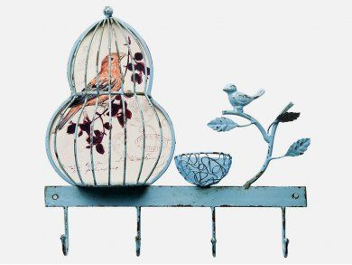 Wieszak Birdcage I — Wieszaki ścienne — KARE® Design