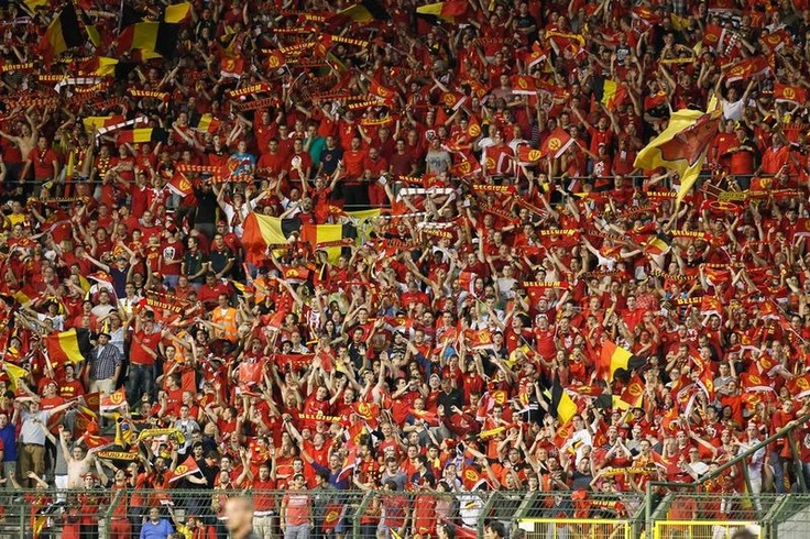 Supporters Rode Duivels