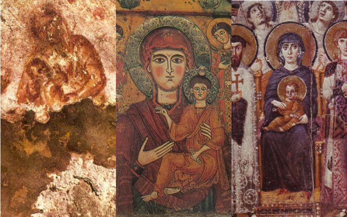Estas son las 8 imágenes más antiguas de la Santísima Virgen María