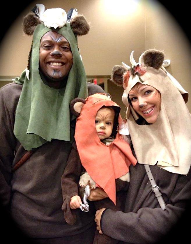 Adult Ewok Costume | mommyplayswithart