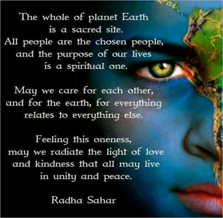 Quotes About World Peace Day: Spiritual Oneness ... Radha Sahar