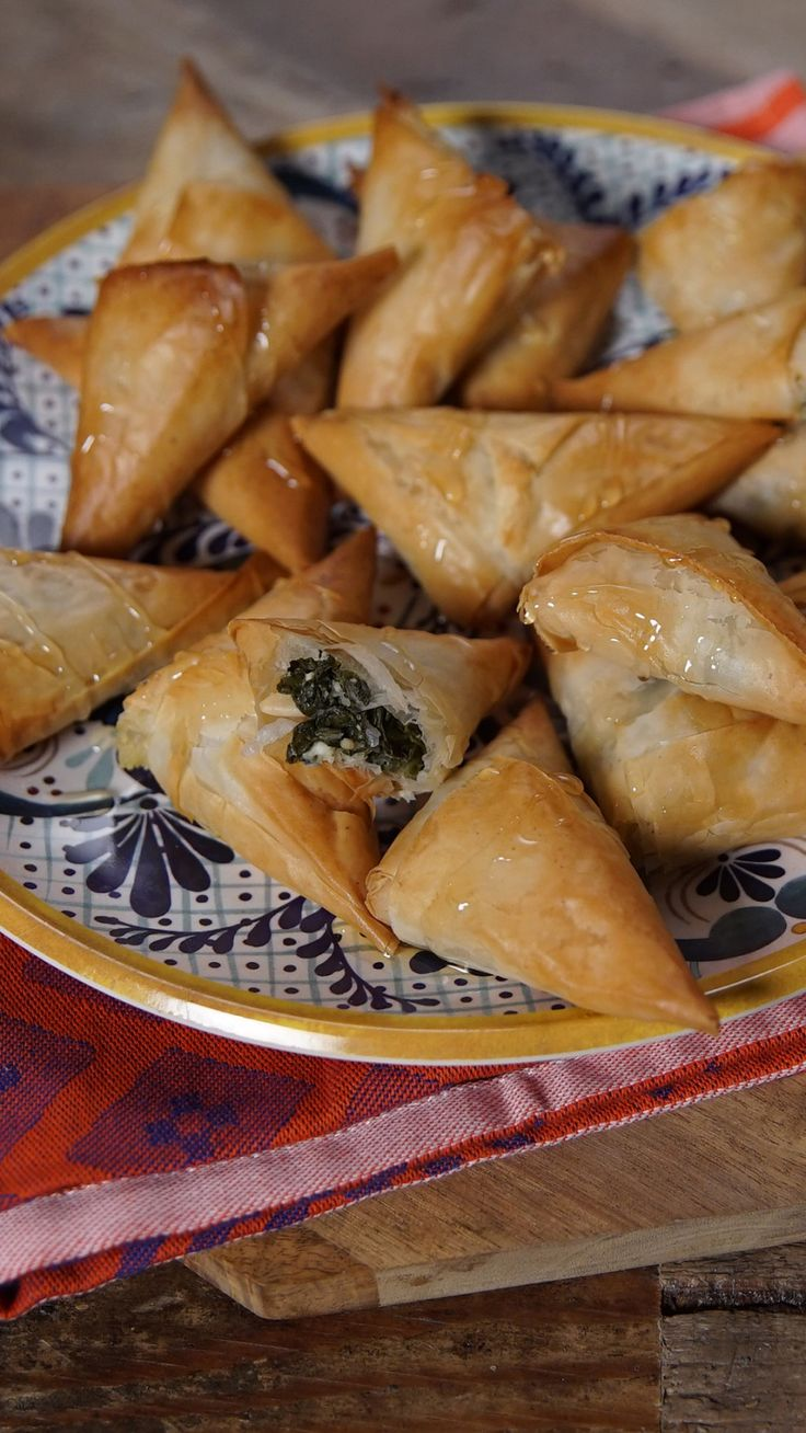 Who knew the sweetness of baklava paired so well with the savoriness of a spanakopita?