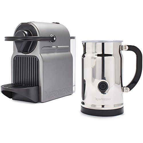 Special Offers - Nespresso AC40-US-TI-NE Inissia Espresso Maker with Aeroccino Plus Milk Frother Titan - In stock & Free Shipping. You can save more money! Check It (November 11 2016 at 06:06PM) >> http://dripcoffeemakerusa.net/nespresso-ac40-us-ti-ne-inissia-espresso-maker-with-aeroccino-plus-milk-frother-titan/