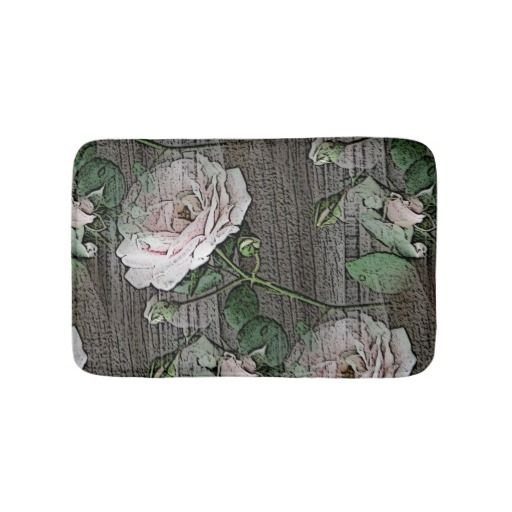Bath Mats (Roses Bathroom Mat)