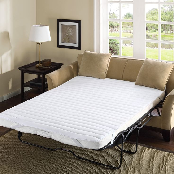Madison Park Essentials Delta Microfiber Sofa Bed Waterproof Mattress Pad By