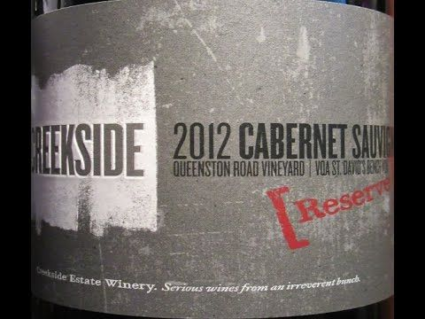Creekside 2012 Reserve Cabernet Sauvignon (Ontario Wine Review #223)