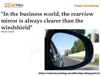 Value Investing: Rearview Mirror Is Clearer Than the Windshield Sli...