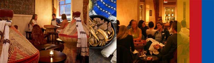 Addis in Cape is a restaurant offering Ethiopian dining in Cape Town in the Western Cape province of South Africa. http://restinations.co.za/addis-cape-ethiopian-restaurant/