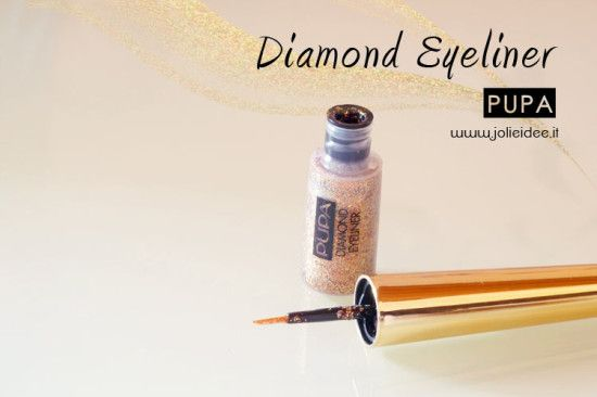 Review Diamond Eyeliner Pupa - Collezione Déco