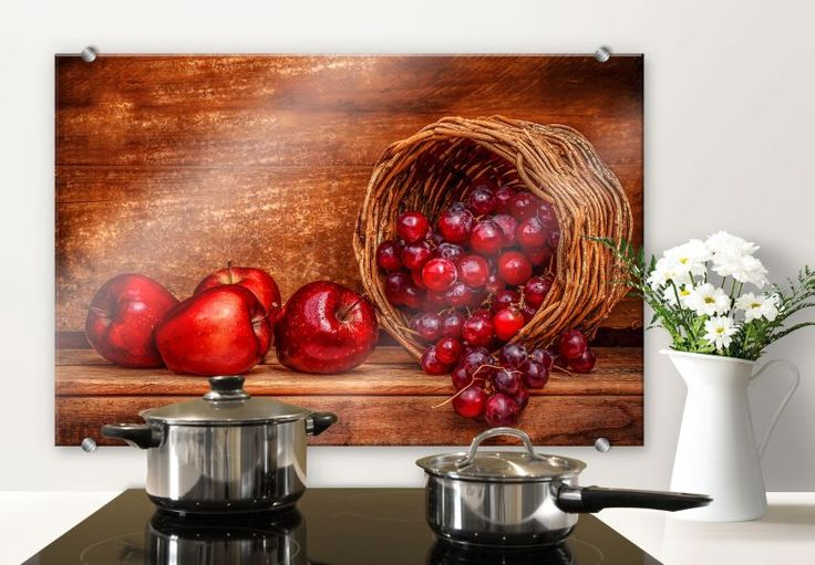 Spatscherm Perfoncio - Rode Vruchten