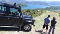 While in port in Picton, take a 1-hour shore excursion to the top of Gondola Hill, where you'll be treated to sweeping views of Picton and the Marlborough Sounds. Ride a 4WD with a professional driver-guide at the wheel and hear informative commentary on natural landmarks along the way.  -