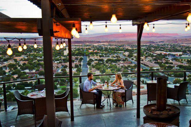 Cliffside Restaurant at The Inn on The Cliff Hotel in St. George, Utah