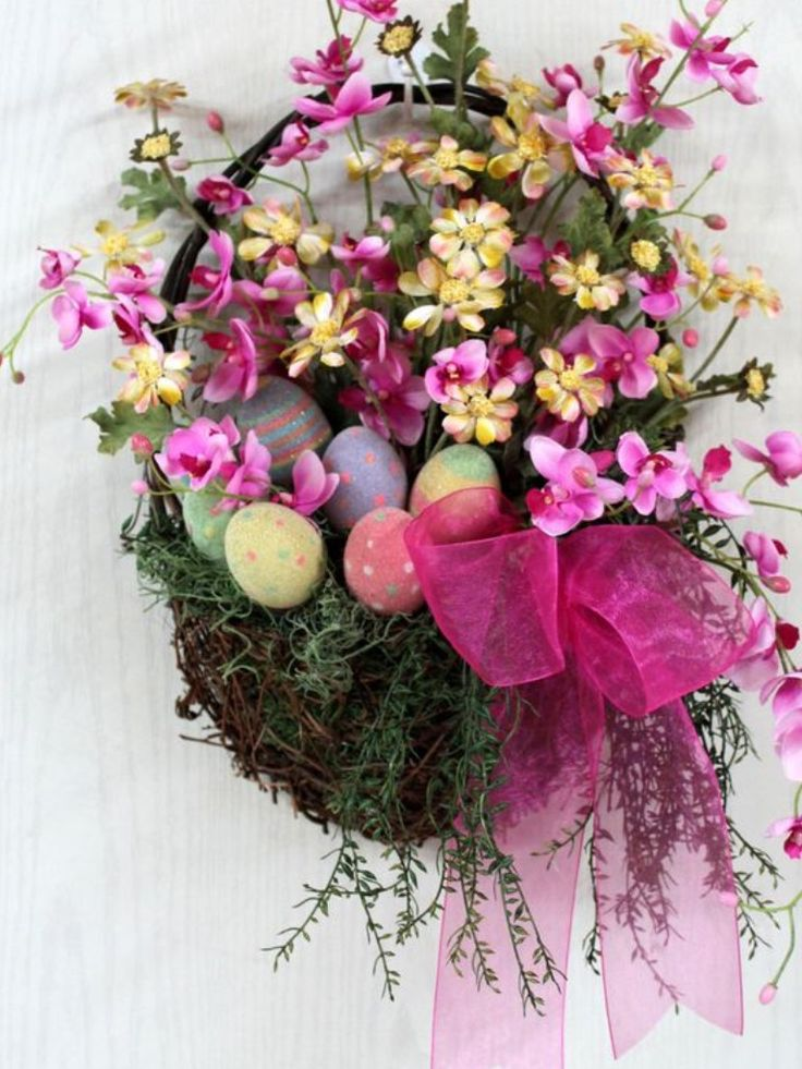 ... Easter decoration ideas on Pinterest | Deco mesh, Spring and Easter