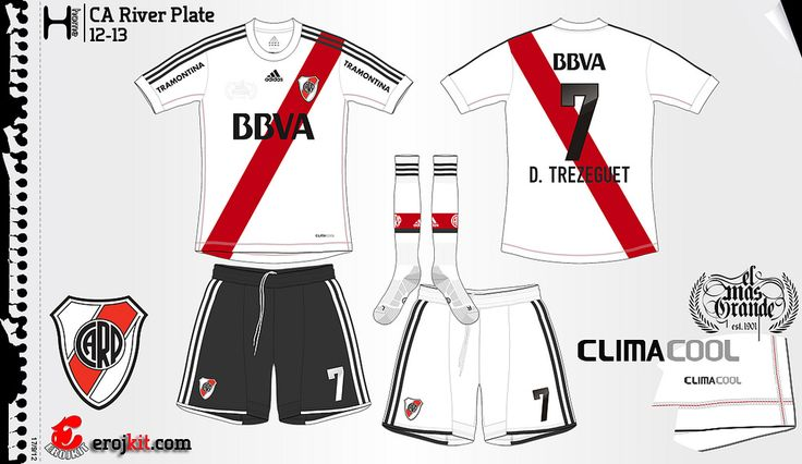 River Plate | home jersey | 2012/13