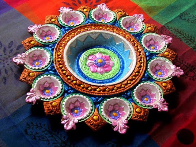Nakshatra Utsav Collection: Decorative Diwali Diya_002
