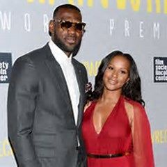 LeBron James and Wife