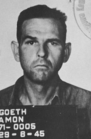 When Teege was 38, she learned that her grandfather was SS Commander Amon Goeth, pictured