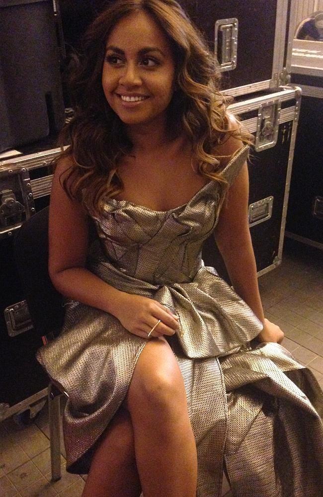 Jessica Mauboy's Eurovision 2014 performance #eurovision2014