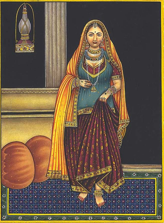 23 best 16th century indianmughal costume images on pinterest magictransistor subai mughal miniature painting the courtesan 16th century india sciox Choice Image