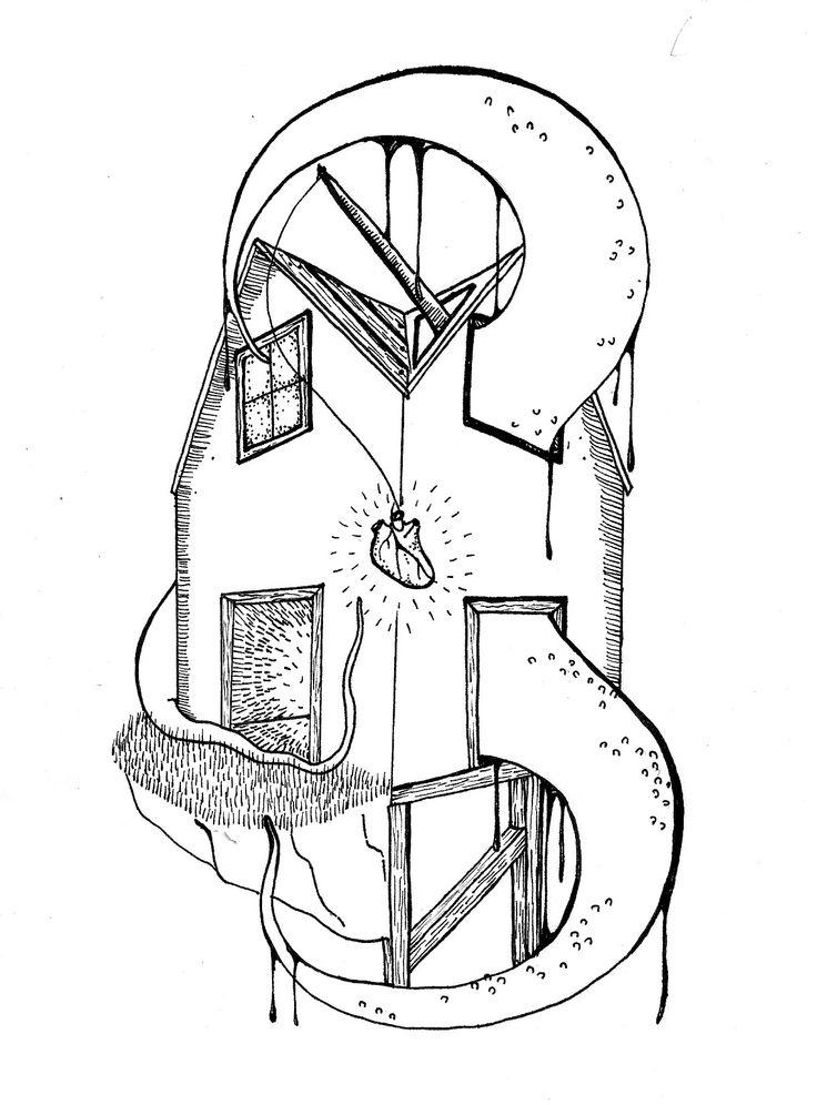 """""""Trampa"""", ilustración original"""