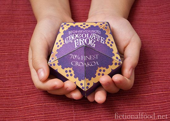 "Chocolate Frogs - made with the finest ""croakoa""!: Books, Health Food, Bit Crafty, At Home, Desserts Recipes, Harry Potter Recipes Food, Diy Hunger Games Recipes, Honeyduk Chocolates, Harry Potter Chocolates Frogs"