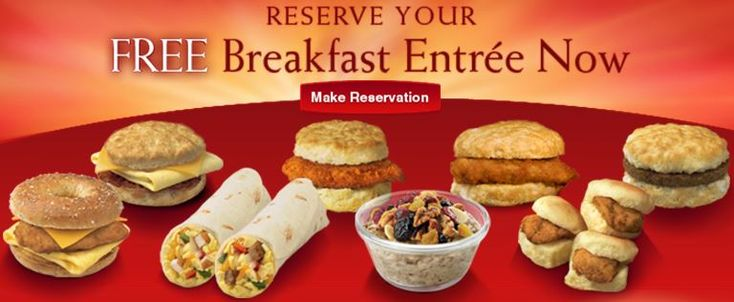 Chick-Fil-A: Free Breakfast Entree At Participating Locations