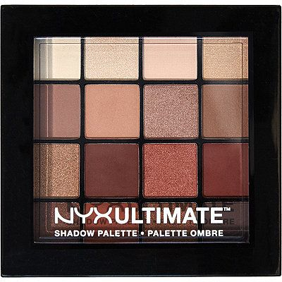Nyx Cosmetics Warm Neutrals Ultimate Shadow Palette Plutôt cool et pas cher !! (18 $ US)